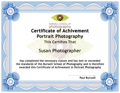 BSOP Certificate of Achivement
